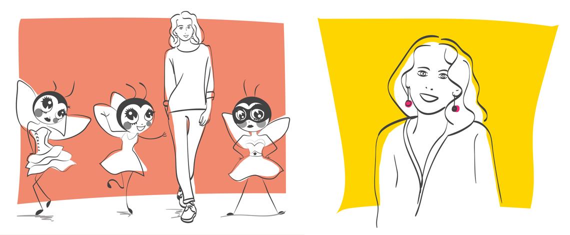 Illustrations pour Le site de Pulpe de vie